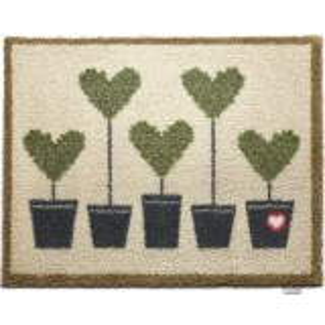 Hug Rug øko dørmåtte, 65x85 - Topiary 10