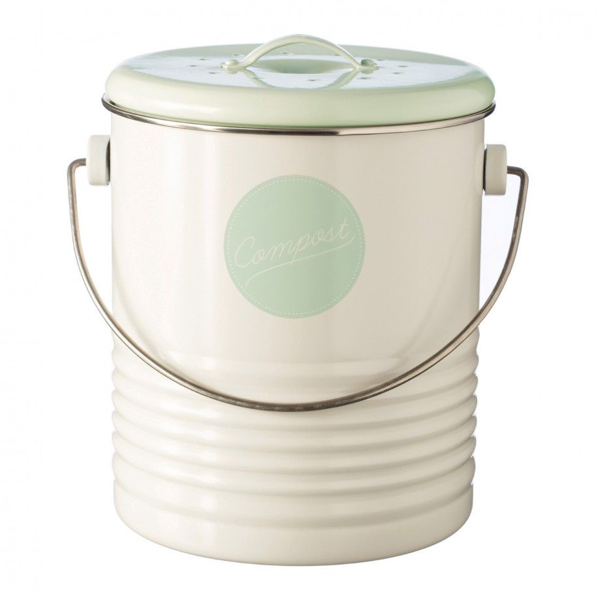 Typhoon kompostspand, 2,5 L - beige/grøn