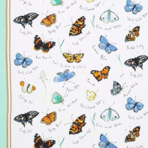 Ulster Weavers viskestykke - Butterflies