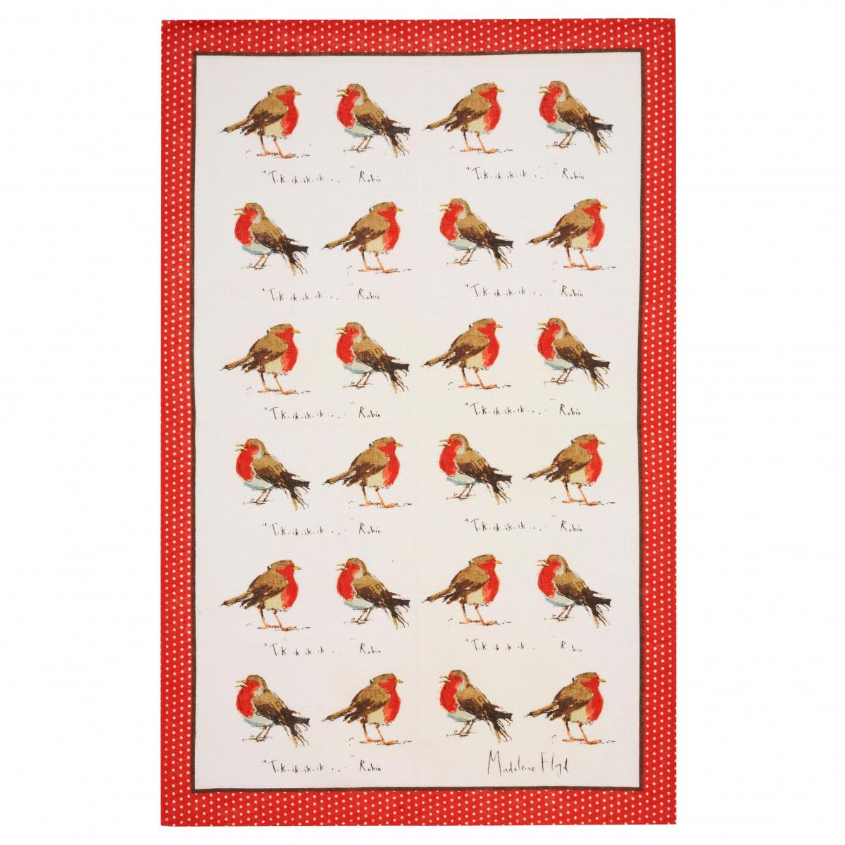 Ulster Weavers viskestykke - Robins