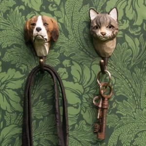 Wildlife Garden knag - kat