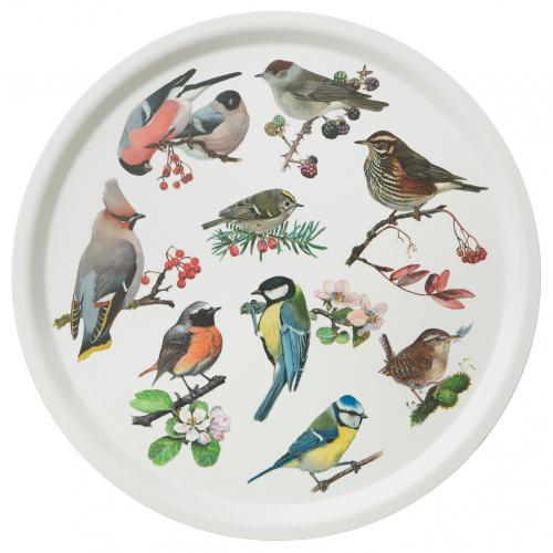 Koustrup & Co. serveringsbakke - havens fugle
