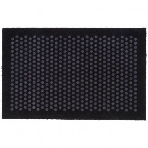 Tica dørmåtte, prikker/sort -  60x90