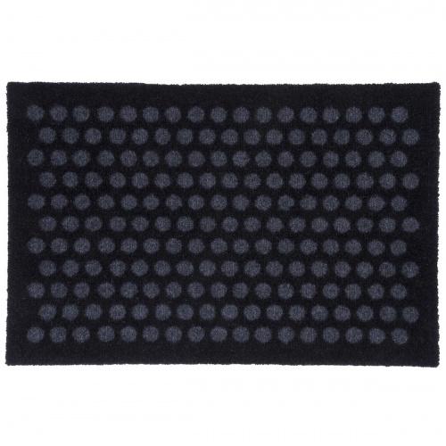 Tica dørmåtte, prikker/sort -  40x60