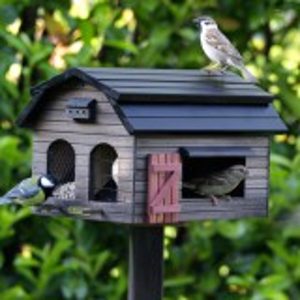 Wildlife Garden foderlade - brun