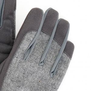 Burgon & Ball havehandsker, dame - grå tweed