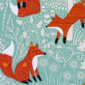 Ulster Weavers grydelap - Foraging Fox
