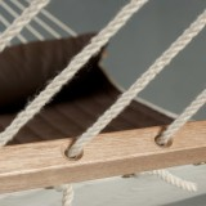 La Siesta hængekøje, polsteret og tværpind - Alabama Arabica