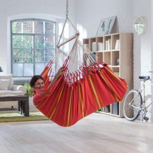 La Siesta hængestol, lounge - Currambera Cherry