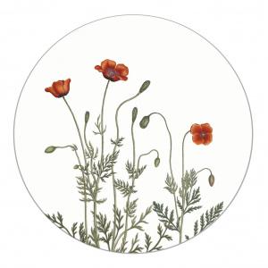 Koustrup & Co. glasunderlag - køllevalmue
