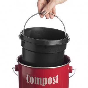 Indvendig plastikspand (anden kompostspand vises!)