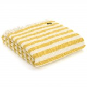 Tweedmill uldplaid -  Lemon Sherbet