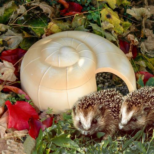 Denk pindsvinehus - sneglehus
