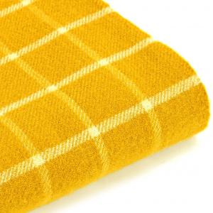 Tweedmill uldplaid - Chequered Check Yellow