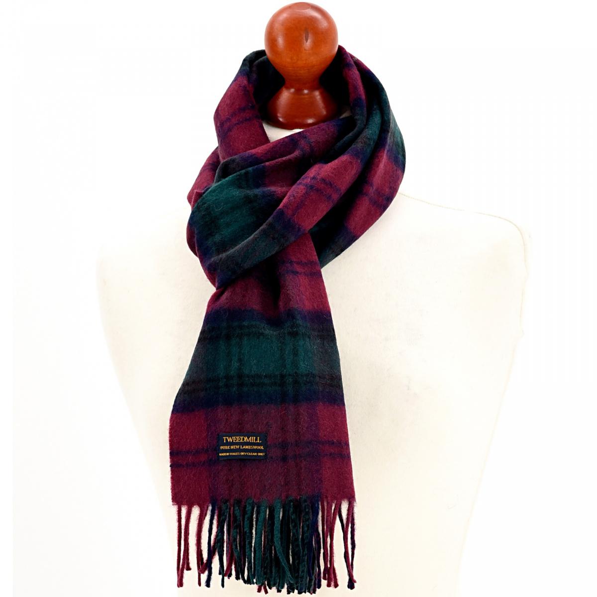 Tweedmill tørklæde i lammeuld - Lindsey