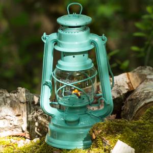 Feuerhand petroleumslampe - lysegrøn
