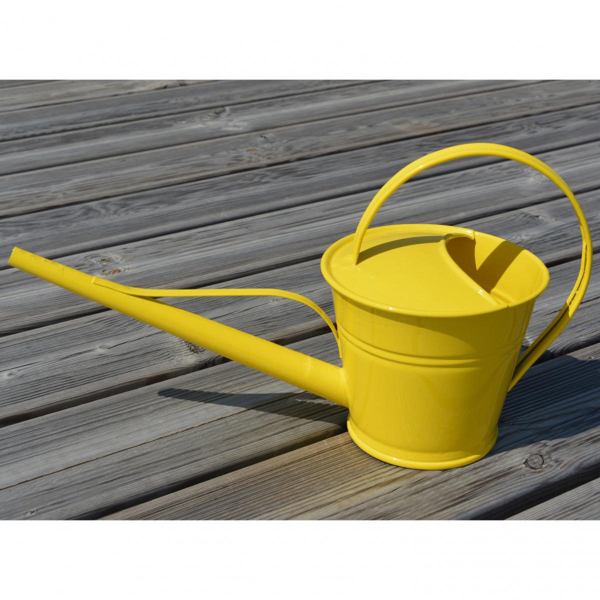 Zinc & Jardin 1,5 L vandkande - gul