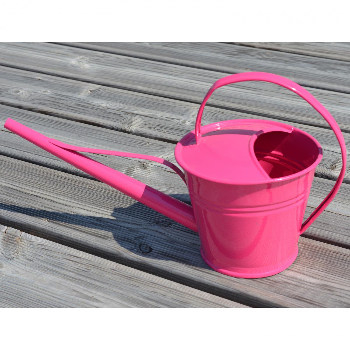 Zinc & Jardin 1,5 L vandkande - lyserød