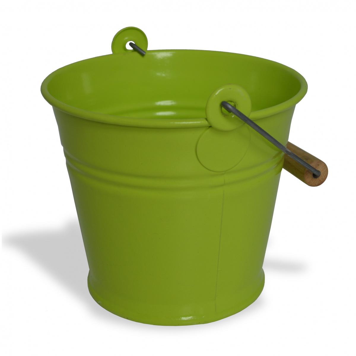 Zinc & Jardin 1,5 L spand med hank - grøn