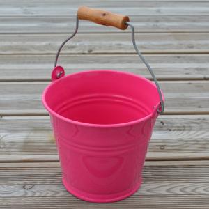 Zinc & Jardin 1,5 L spand med hank - lyserød