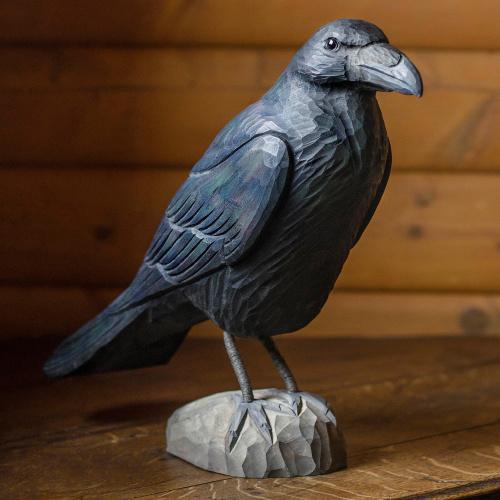 Wildlife Garden træfugl - ravn