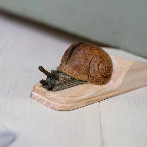 Wildlife Garden dørstopper - snegl