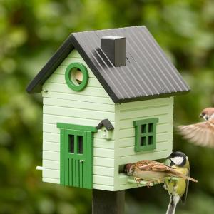 Wildlife Garden fuglehus/foderautomat - lysegrøn