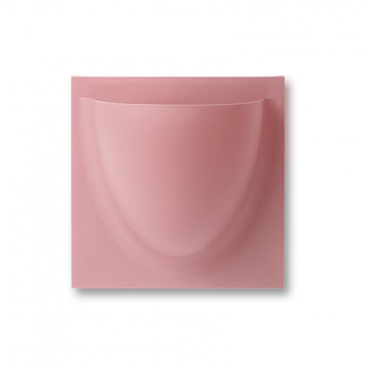 VertiPlants Mini vægkrukke - lys rosa