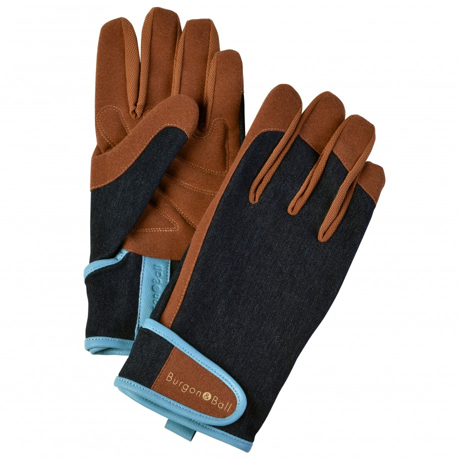 Burgon & Ball havehandsker, herre - denim