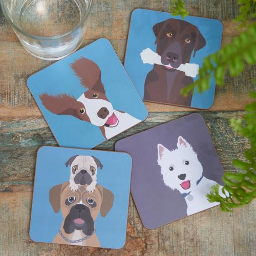 Burgon & Ball glasbrikker - hunde