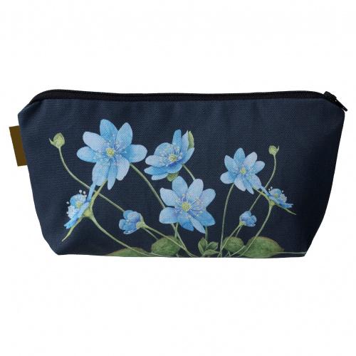 Koustrup & Co. kosmetikpung med blå anemone