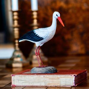 Wildlife Garden træfugl - hvid stork