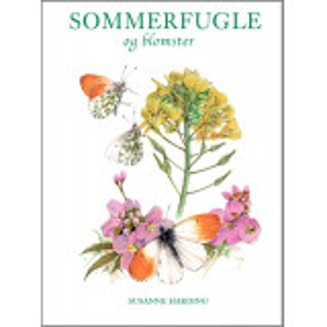 Sommerfugle og blomster