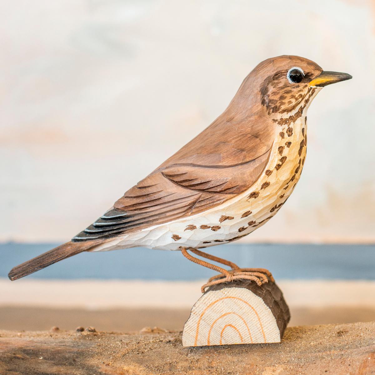 Wildlife Garden træfugl - sangdrossel