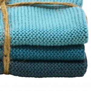 Solwang karklude, 3 stk. - azurblå kombi