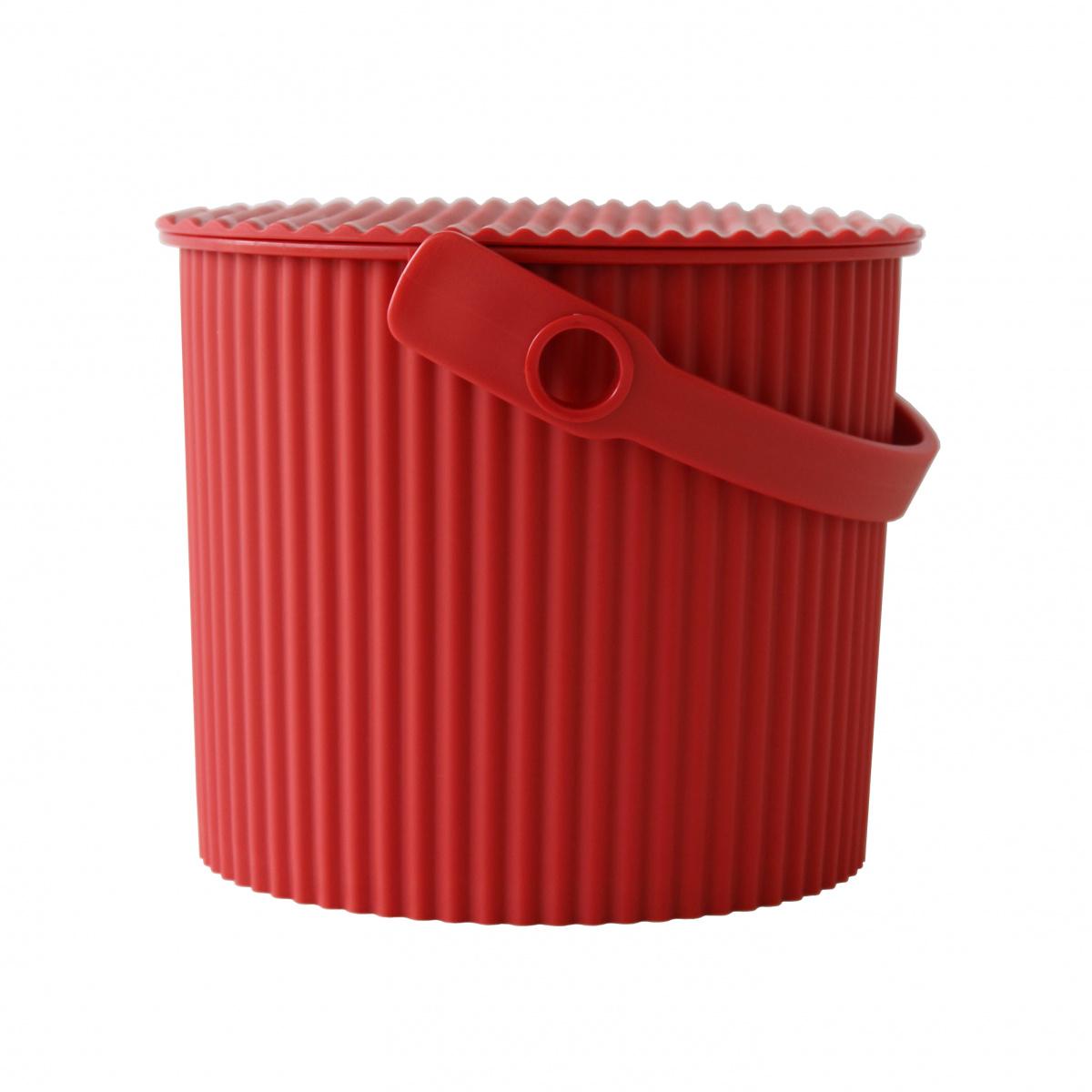 Omnioutil spand - rød,  4 L