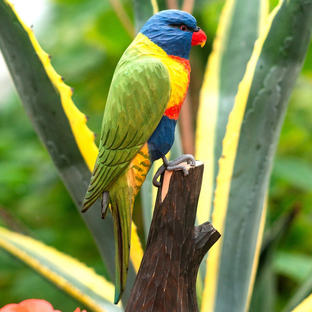 Wildlife Garden træfugl - regnbue lorikeet