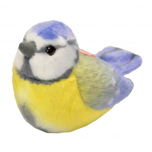 Wild Republic fugl med lyd - blåmejse