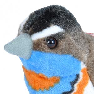 Wild Republic fugl med lyd - blåhals