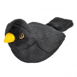 Wild Republic fugl med lyd - solsort