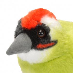 Wild Republic fugl med lyd - grønspætte