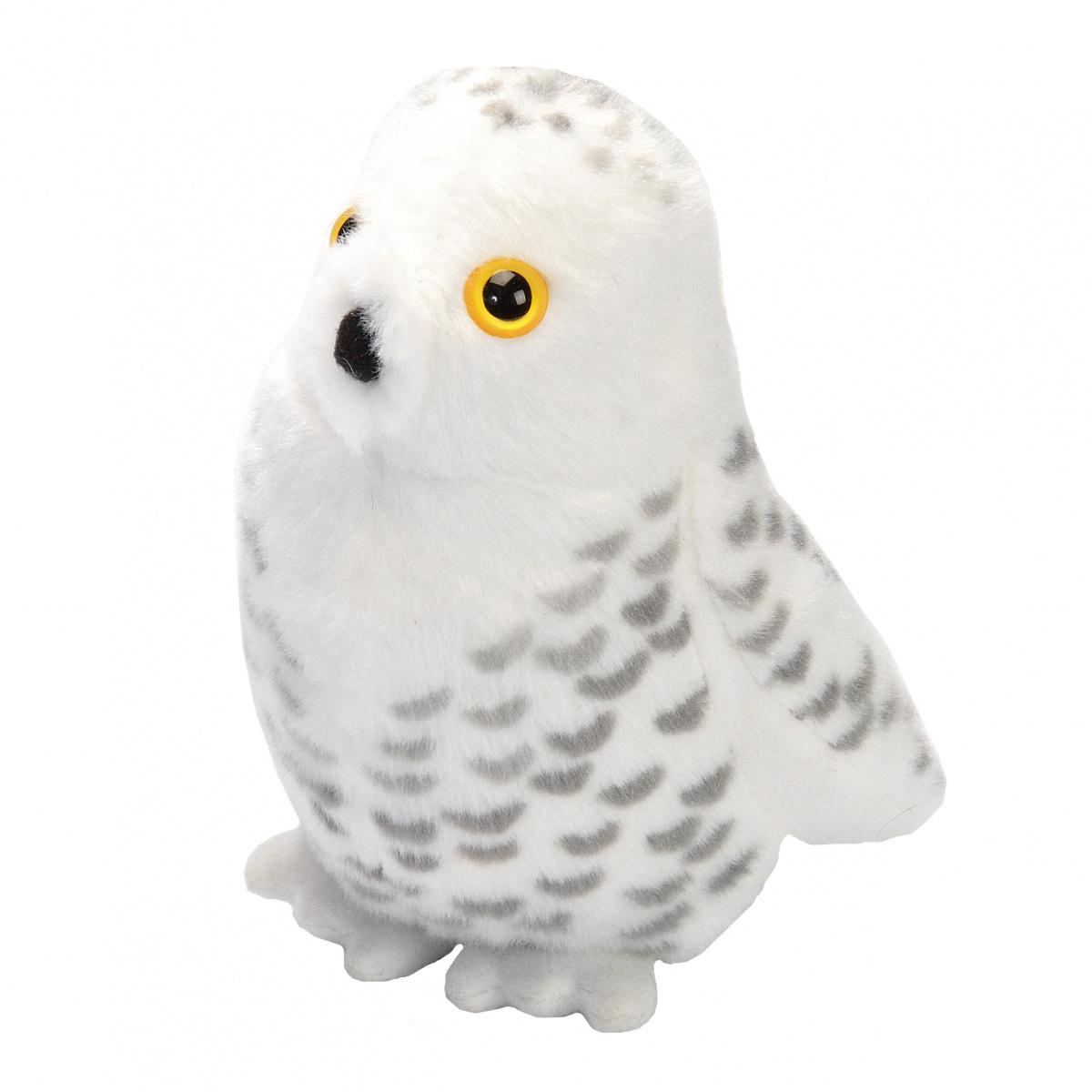 Wild Republic fugl med lyd - sneugle