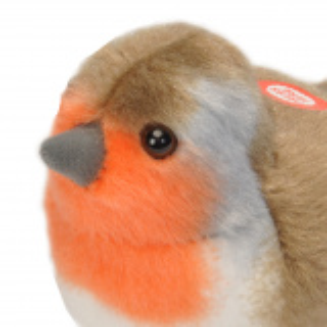 Wild Republic fugl med lyd - rødhals
