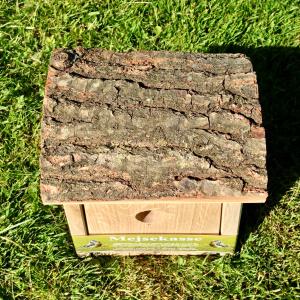 Nature Life mejsekasse med bark tag
