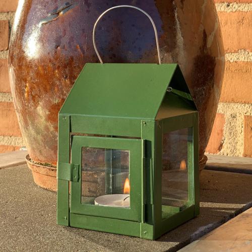 A2 Living lanterne til fyrfadslys - grøn