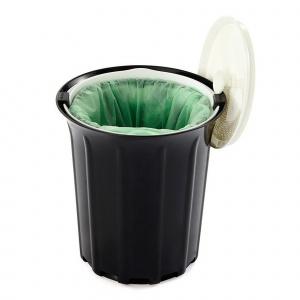 Full Circle kompostspand i plastik - 3,2 L, sort