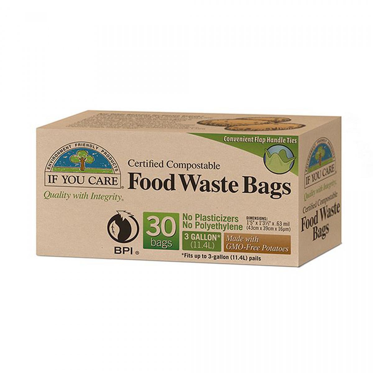 If You Care bioposer til kompostspand, 30 stk.