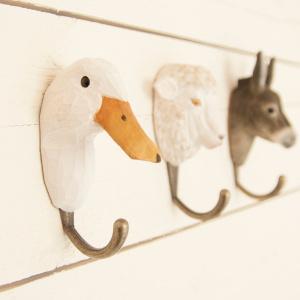 Wildlife Garden knag - and
