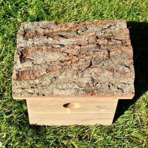 Hercules musvitkasse med bark tag