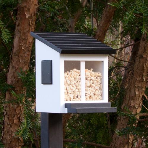 Wildlife Garden egern foderhus - hvid